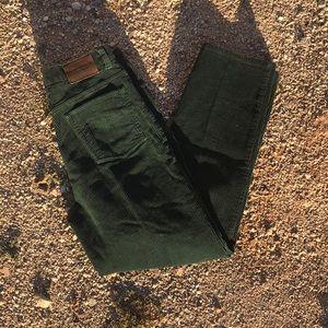Vintage Ralph Lauren Green Corduroy Pants